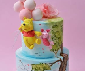 cake, cuteness, and winnie the pooh image