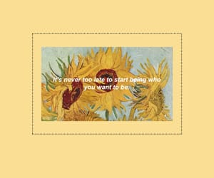 wallpaper, yellow, and sunflower image