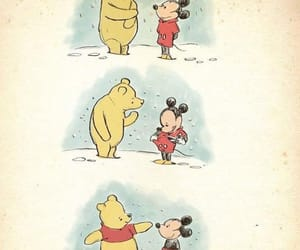 cute, disney, and mickey mouse image