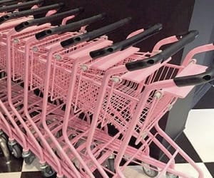 Pink shopping carts #pic #picture #photo #photograph #color #pink #aesthetic #pinkislife #ilovepink #foreverpink -----> www.ginaritter.com (Not my pic/meme, if you know the source, please post it.)