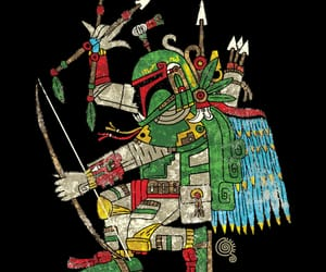 aztec, boba fett, and star wars image