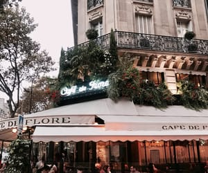 cafe, french, and paris image