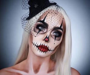 Halloween, girl, and blonde image