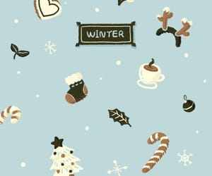 christmas, wallpaper, and winter image