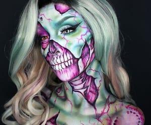 girl, Halloween, and woman image