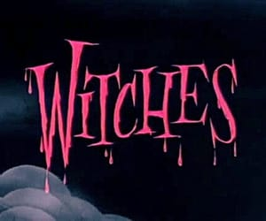 witch, gif, and pink image