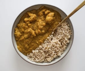 curry, food, and photography image