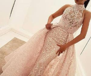 lace prom dress, prom dress long, and mermaid prom dress image