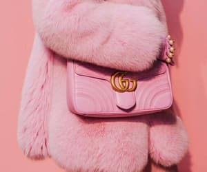 pink, fashion, and gucci image
