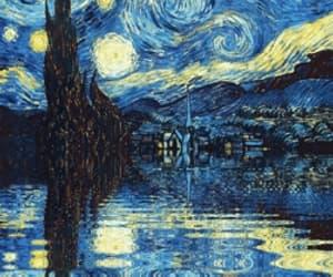 amazing, starry night, and art image