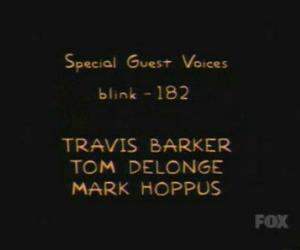 blink 182, the simpsons, and mark hoppus image