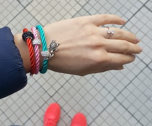 bracelets, vibes, and charms image