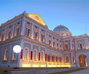 museums, singapore, and travel image