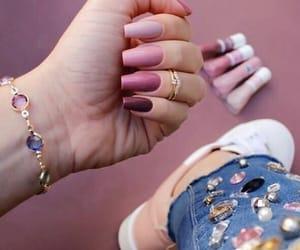 fashion, nails, and art image