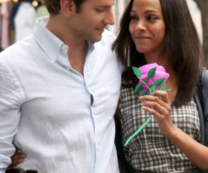 zoe saldana, the words, and bradley cooper image