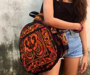 backpack, boho, and etsy image