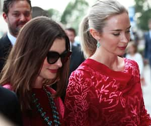 Anne Hathaway and Emily Blunt image