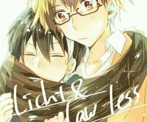 anime, kawaii, and licht image