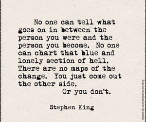 books, change, and stephenking image
