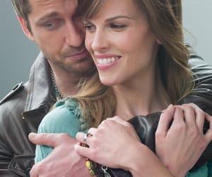 gerard butler, hilary swank, and ps i love you image