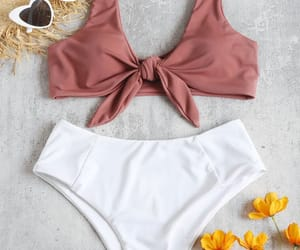 beach, summer, and chic image