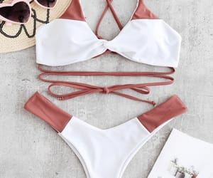 beach, shopping, and summer image