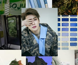 blue, jaehyun, and Collage image