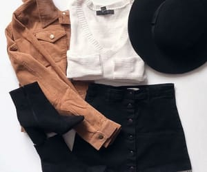 outfit, autumn, and fall image