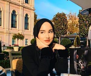 muslim, hijab fashion, and hijab style image