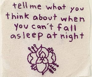 quotes, night, and flowers image