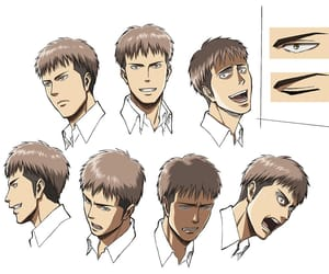 anime, jean, and attack on titan image