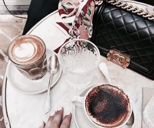 bag, cafe, and chanel image