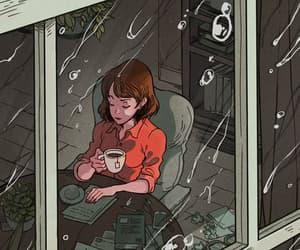 rain and art image