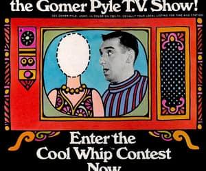 advertisement, magazine, and vintage television image
