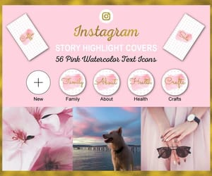 etsy, instagram templates, and watercolor graphics image