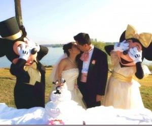 disney and wedding image