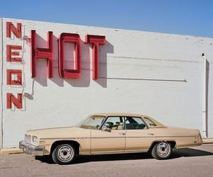 Hot, neon sign, and sign image