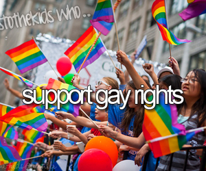 gay, rights, and heres to the kids who image