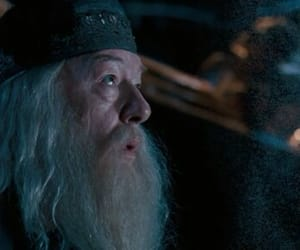 albus dumbledore, harry potter, and richard harris image