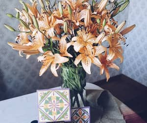 art, flowers, and decor image