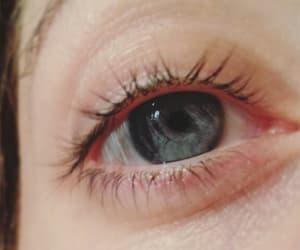 blue, eyes, and grey image