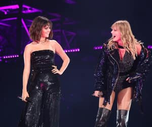 selena gomez, Taylor Swift, and Reputation image