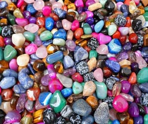 colorful, rocks, and collection image