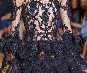 blackdress, Couture, and glamour image