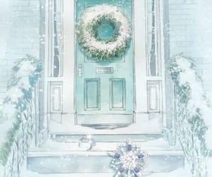 blue, christmas, and tiffany image