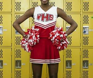 black girl, cheerleader, and high school image