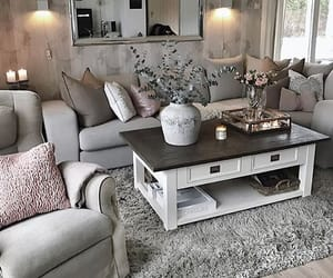 grey, home, and style image
