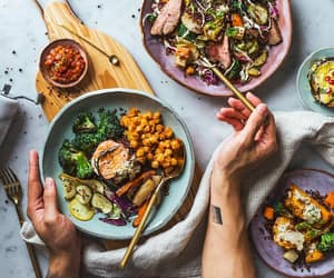 beautiful, beef, and broccoli image