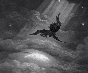 lucifer, angel, and gustave dore image
