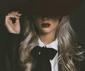 blonde, makeup, and diva image